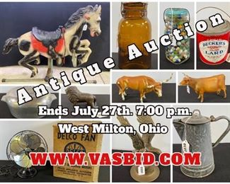 West Milton Antique Auction