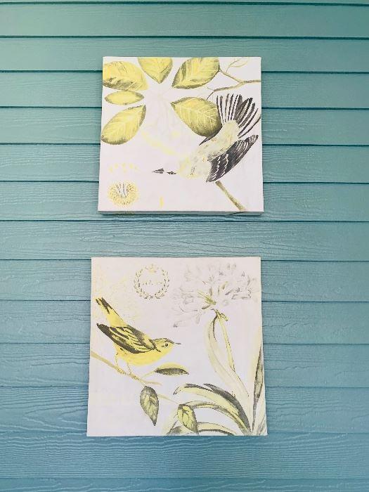 Canvas Wall Art, Bird Theme
