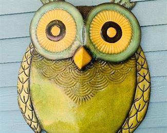 Metal Owl Hanging