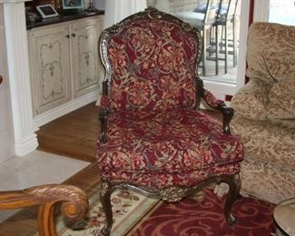 pair of French arm chairs - $295 each