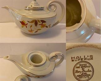 Hall's Superior Quality Kitchenware Teapot