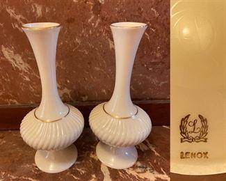 Pair Lenox Vases