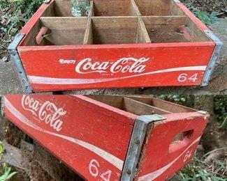 Vintage Coke Crate