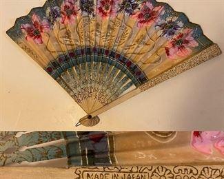 Vintage Handmade Fan Japan