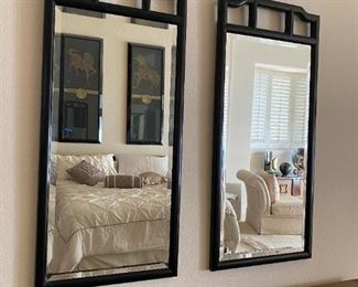 2 Mirrors by Century Furniture Chin Hua Collection