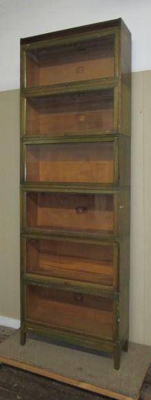 Macey Oak 6 Stack Bookcase