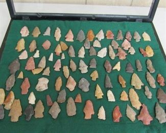 Arrowhead Collection - All Found in Lauderdale County Tennessee