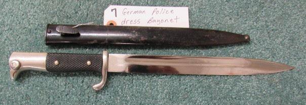 German Police Dress Bayonet