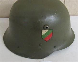 1950's Bulgarian Helmet
