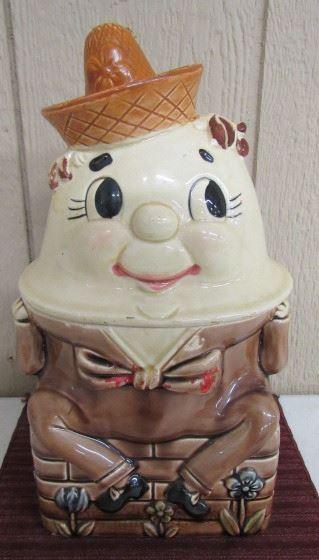 Humpty Dumpty Cookie Jar