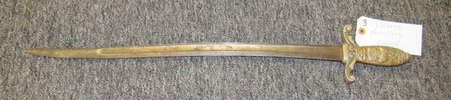 Vintage Artillery Sword