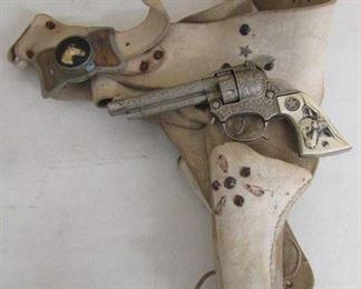 Toy Cap Pistol & Holster