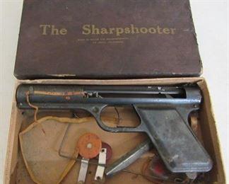 Sharpshooter Toy Pistol in Box