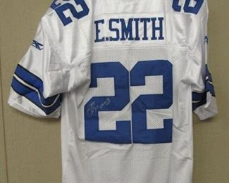Emmitt Smith Autographed Jersey w/Certificate