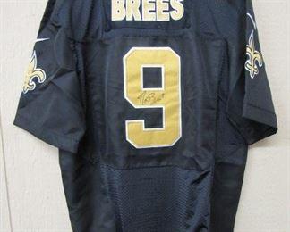 Drew Brees Autographed Jersey w/Certificate