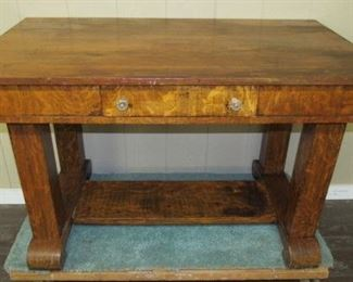 Empire Style Library Table