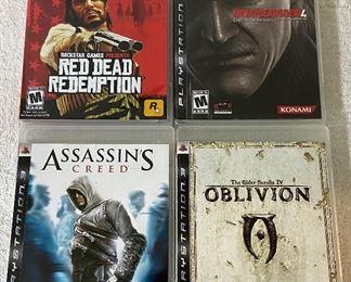 4 Sony PlayStation 3 Games