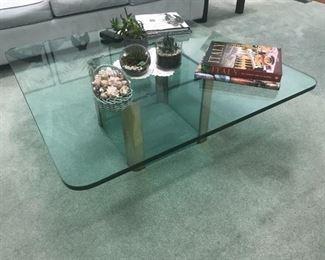 Glass Top Coffee Table $ 120.00
