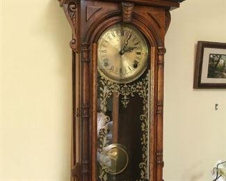 Antique Wall Clock $ 80.00