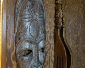 MCM Wooden Wall Art