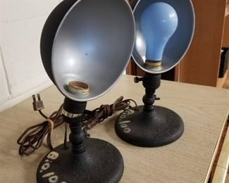 Vintage Photo Lamps