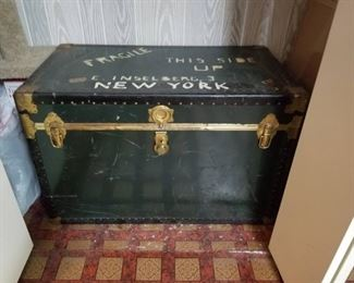 This Trunk is Huge. Great Storage or Convert To Table