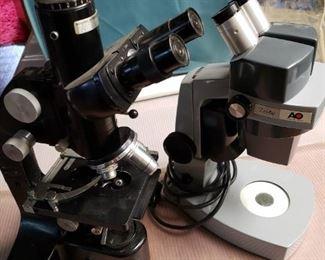 Two AO Microscopes