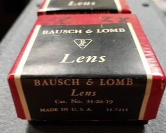 Bausch and Lomb lenses