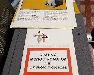 Monochromator brochures