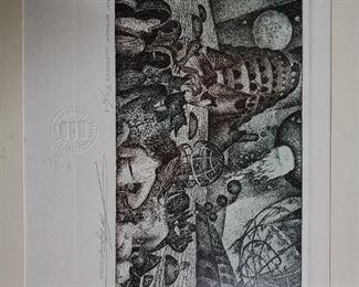Frans Masereel Signed Print