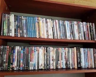 Many DVDS!