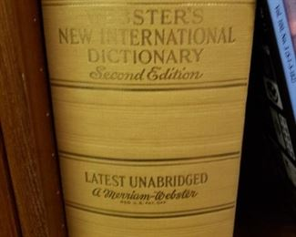 Several Series Reference Books including Encylopedias, Rare Science Annuals, and Dictionaries