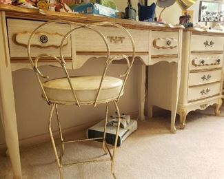 MCM French Provincial Vanity