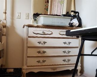 MCM French Provincial Dresser with Mirror