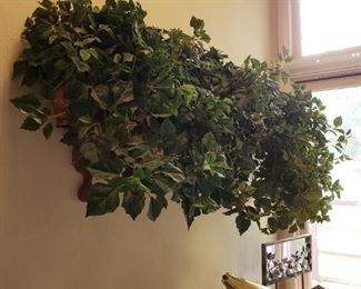 We have a ton of imitation greenery and silk flowers