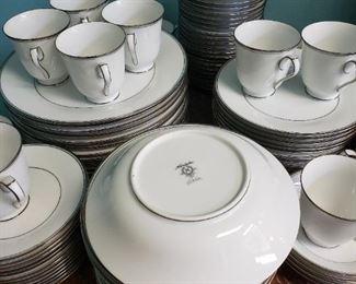 Set of Noritake Diana China Dishes