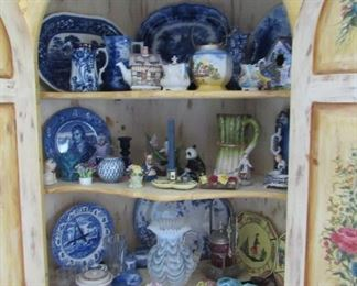 Opalescent glass, Flow Blue, French Quimper, Majolica, just to name a few...