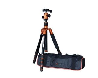 10. MeFOTO A1350 Tripod and Carrying Case