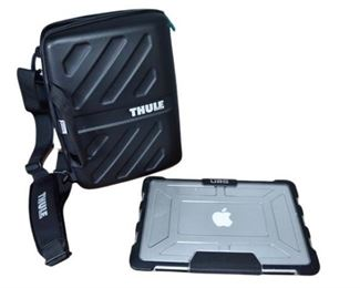 17. APPLE Macbook With and Carrying Case