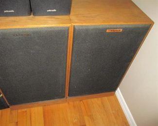 Klipsch & Pioneer S-H352F-K Vintage Speakers