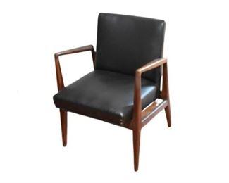 2. JANS RISOM DESIGN Mid Century Upholstered Armchair