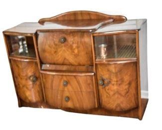 11. Mid Century Style Bar Cabinet