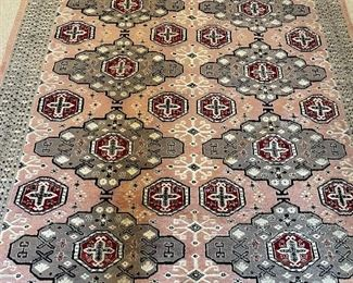 "8'6""x 6'2"" hand woven oriental rug"