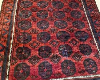 """antique Middle Eastern rug 10'x 6'6"""""""
