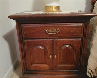 """nightstand is 23 3/4"""" wide x 16"""" deep"""