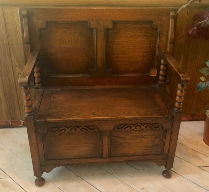 Vintage Convertible Table/Bench/trunk