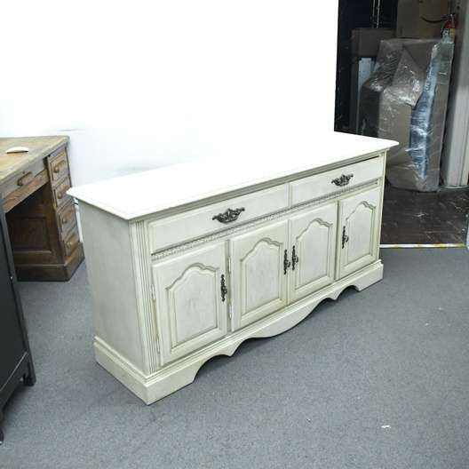 White French Country Buffet