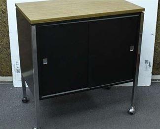 Vintage Cabinet W/ Casters