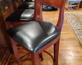 One of four bar stools