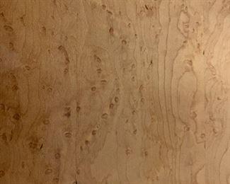 Close up of Birdseye maple